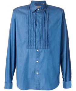 Burberry | Рубашка С Плиссированным Нагрудником