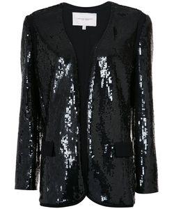 Carolina Herrera | Sequinned Boxy Blazer 2 Silk/Sequin