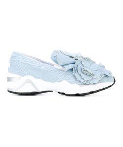 Suecomma Bonnie | Motif Denim Trainers 36 Cotton/Rubber