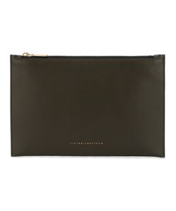 Victoria Beckham | Top Zip Clutch Calf Leather/Polyamide/Polyurethane