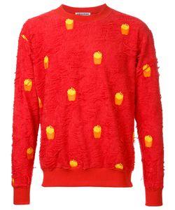 Mikio Sakabe | French Fries Sweatshirt Adult Unisex Large Cotton