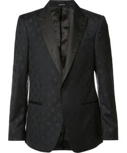 Alexander McQueen | Skull Jacquard Blazer 50 Wool/Polyester
