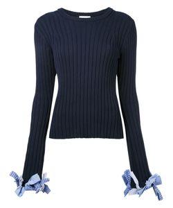 Irene | Bow Cuff Jumper Size