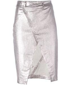 A.F.Vandevorst   Open Front Pencil Skirt 36