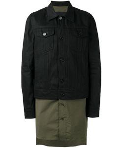 JUUN.J | Colour Block Overcoat 48 Cotton