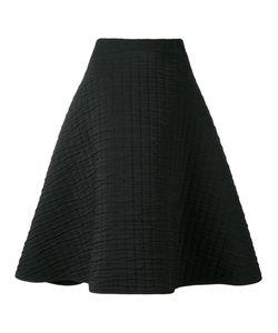 Chalayan | Textu A-Line Skirt 46 Cotton/Polyester