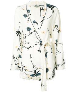Ganni | Рубашка С Запахом С Поясом
