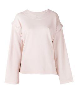 MM6 by Maison Margiela   Mm6 Maison Margiela Buttoned Sweatshirt