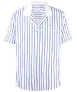 Soulland | Striped Short Sleeve Shirt Size Medium