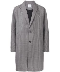 Wooyoungmi | Houndstooth Pattern Coat 48 Mohair/Wool
