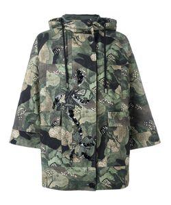 Antonio Marras | Camouflage Print Parka Coat Size 40