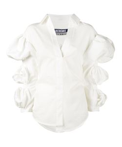 JACQUEMUS | Blouse With Cropped Bubble Sleeves