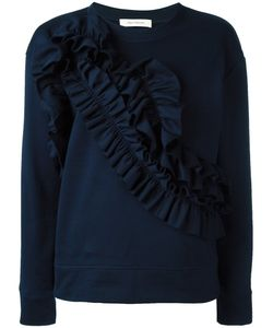 Cedric Charlier | Cédric Charlier Ruffled Panel Sweatshirt 42 Cotton