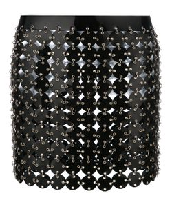 Paco Rabanne | Short Disc Skirt