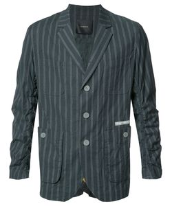 Undercover | Striped Blazer 3 Cupro/Cotton/Polyurethane