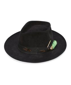 NICK FOUQUET | The Heatherton Hat Silk/Leather/Beaver Fur/Wool
