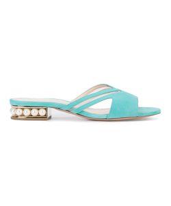 Nicholas Kirkwood | Slip-On Sandals 36 Suede/Leather