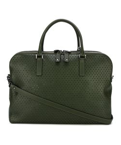 Valentino | Garavani Rockstud Perforated Briefcase Calf Leather