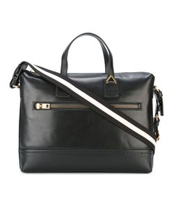 Bally | Striped Strap Laptop Bag Leather