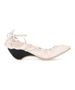 J.W. Anderson | J.W.Anderson Tie Back Ballerinas 37