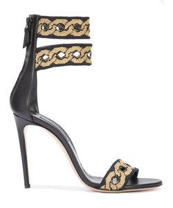 Casadei | Chain-Look Sandals 36.5