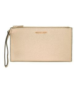 Michael Michael Kors | Zipped Clutch Leather