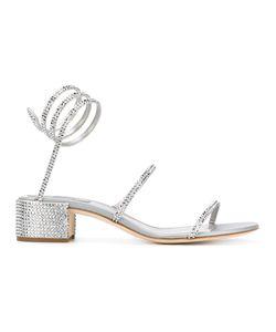 Rene' Caovilla | René Caovilla Studded Rhinestone Sandals Size 38.5