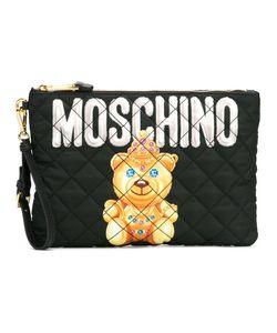 Moschino | Bear Print Clutch Polyester