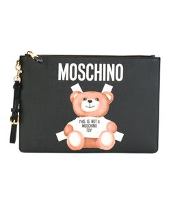 Moschino | Toy Bear Paper Cut Out Clutch Leather/Polyurethane