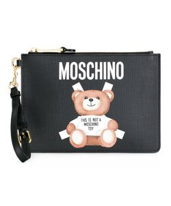 Moschino | Toy Bear Paper Cut Out Clutch Leather/Polyester