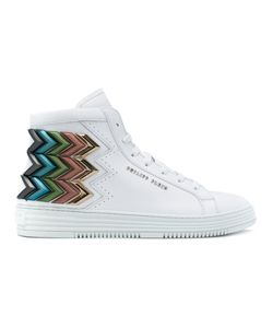 Philipp Plein | Chevron Seventy Hi-Top Sneakers Size 40
