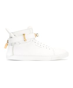 Buscemi | High-Top Trainers 37 Calf Leather/Rubber/Leather/Metal Other