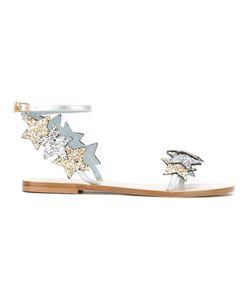 Chiara Ferragni | Findmeinwonderland Flat Sandals Size 39