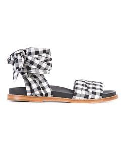 Marques Almeida | Marquesalmeida Gingham Strap Sandals 39