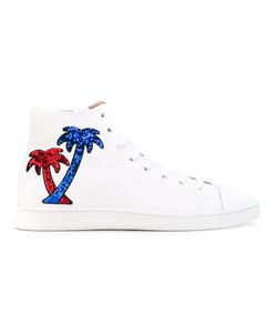 Marc Jacobs   Palm Tree Hi-Top Sneakers