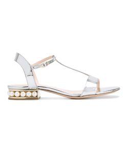 Nicholas Kirkwood | Casati Pearl T-Bar Sandals Size 37