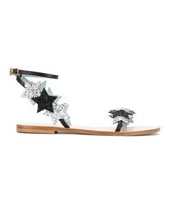 Chiara Ferragni | Findmeinwonderland Flat Sandals Size 40