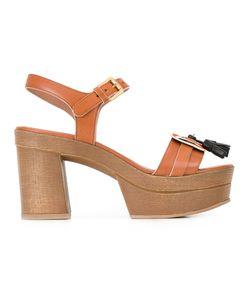 L' Autre Chose | Lautre Chose Hanging Tassels Sandals 39 Calf Leather/Rubber