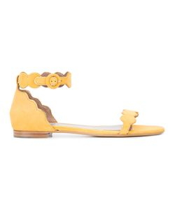 Tabitha Simmons | Scalloped Flat Sandals