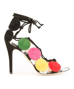 Charlotte Olympia | Colour Block Sandals 36 Calf Leather/Calf Suede