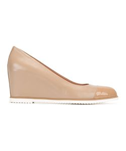 Baldinini | Wedge Pumps 36 Calf Leather/Leather/Rubber