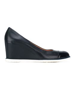 Baldinini | Concealed Platform Pumps 39.5 Calf Leather/Leather/Rubber