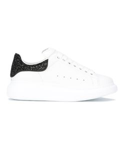 Alexander McQueen | Lace-Up Sneakers 37.5 Leather/Rubber