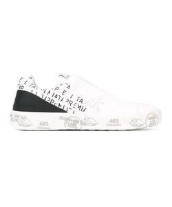 PREMIATA WHITE | Laceless Sneakers 44