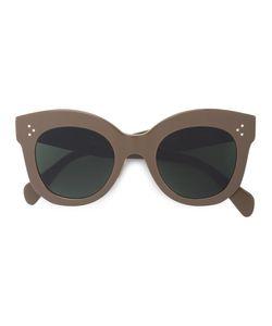 Céline Eyewear | Объемные Солнцезащитные Очки