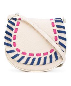 Orciani | Woven Detail Saddle Bag