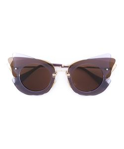 Miu Miu Eyewear | Cat Eye Shaped Sunglasses Acetate/Metal