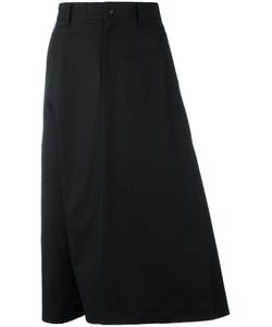 Y-3   Midi A-Line Skirt Medium Cotton