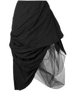 Nostra Santissima | Asymmetric Layered Skirt