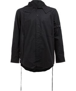 CRAIG GREEN | Oversize Hooded Shirt Size Small